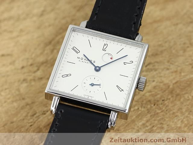 Used luxury watch Nomos Tetra steel manual winding Kal. 2546  | 140290 04