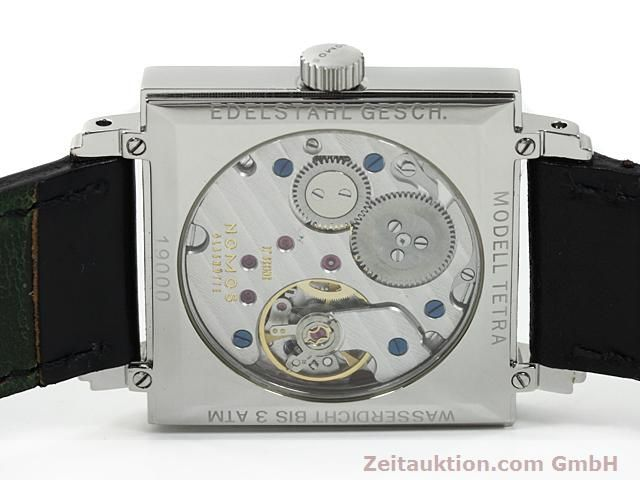 Used luxury watch Nomos Tetra steel manual winding Kal. 2546  | 140290 09