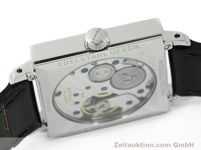 Used luxury watch Nomos Tetra steel manual winding Kal. 2546  | 140290 12