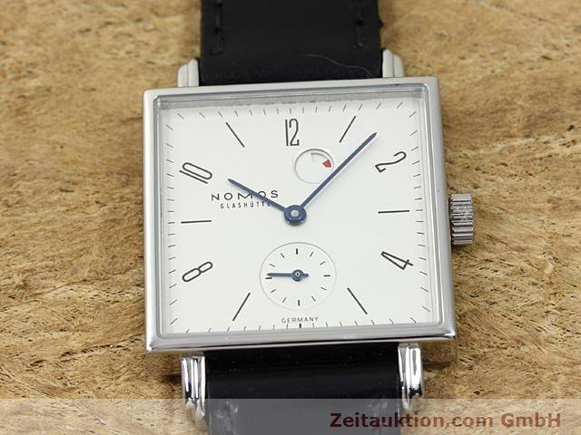 Used luxury watch Nomos Tetra steel manual winding Kal. 2546  | 140290 16