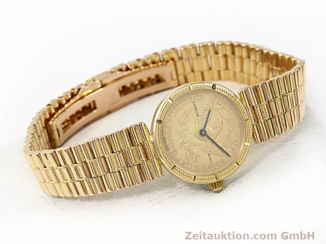 Used luxury watch Corum * 18 ct gold quartz Kal. ETA 959001 Ref. 370781  | 140298 03