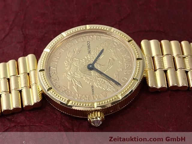 Used luxury watch Corum * 18 ct gold quartz Kal. ETA 959001 Ref. 370781  | 140298 05
