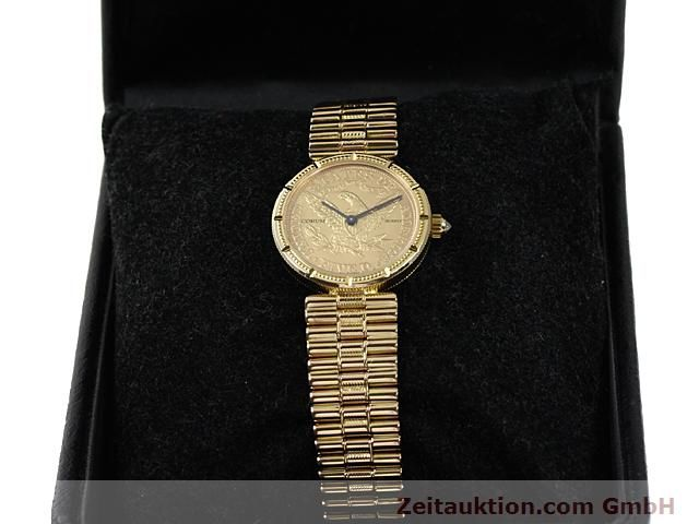 Used luxury watch Corum * 18 ct gold quartz Kal. ETA 959001 Ref. 370781  | 140298 07