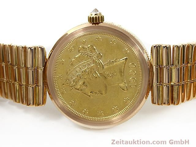 Used luxury watch Corum * 18 ct gold quartz Kal. ETA 959001 Ref. 370781  | 140298 09