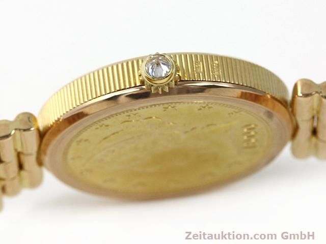 Used luxury watch Corum * 18 ct gold quartz Kal. ETA 959001 Ref. 370781  | 140298 11