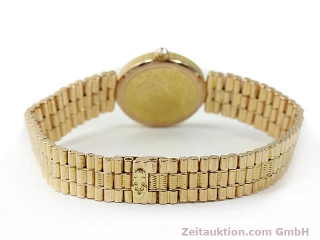 Used luxury watch Corum * 18 ct gold quartz Kal. ETA 959001 Ref. 370781  | 140298 12