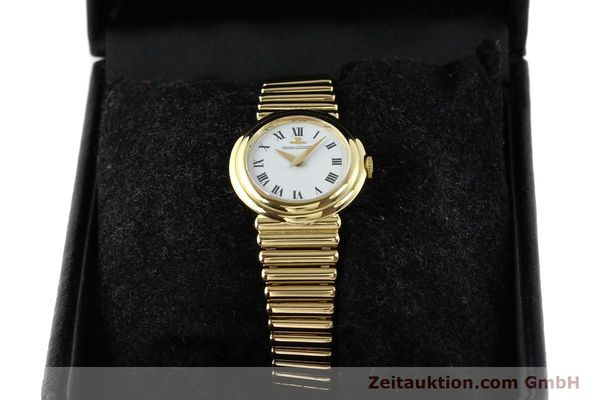 Used luxury watch Jaeger Le Coultre * 18 ct gold manual winding Kal. 839 Ref. 14129121  | 140299 07