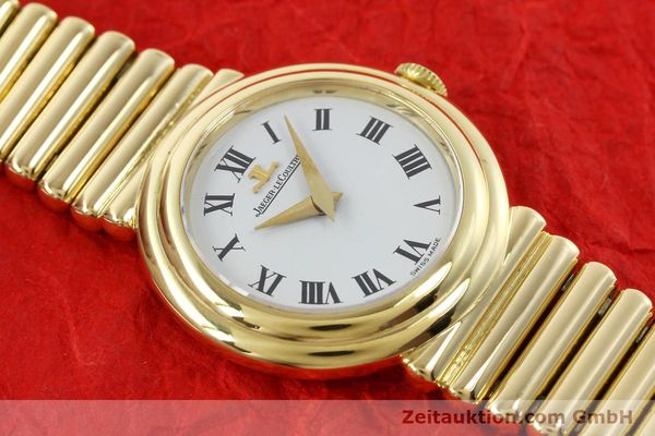 Used luxury watch Jaeger Le Coultre * 18 ct gold manual winding Kal. 839 Ref. 14129121  | 140299 15