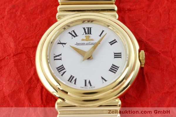 Used luxury watch Jaeger Le Coultre * 18 ct gold manual winding Kal. 839 Ref. 14129121  | 140299 16