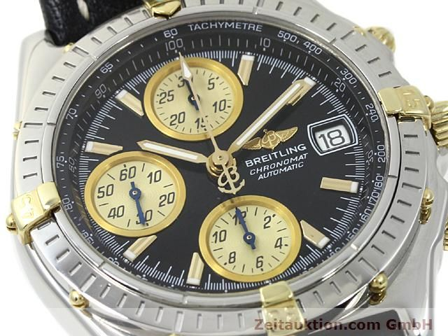 Used luxury watch Breitling Chronomat steel / gold automatic Kal. B1 (ETA 7750) Ref. B130501  | 140302 02