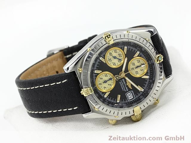 Used luxury watch Breitling Chronomat steel / gold automatic Kal. B1 (ETA 7750) Ref. B130501  | 140302 03