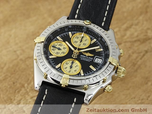 Used luxury watch Breitling Chronomat steel / gold automatic Kal. B1 (ETA 7750) Ref. B130501  | 140302 04
