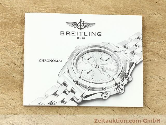 Used luxury watch Breitling Chronomat steel / gold automatic Kal. B1 (ETA 7750) Ref. B130501  | 140302 12