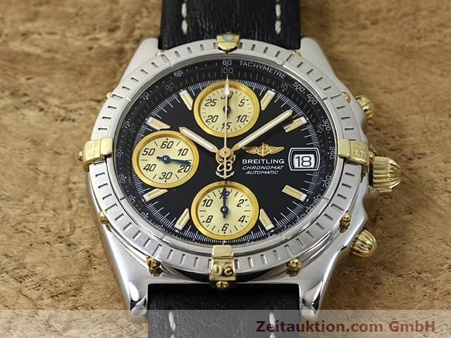 Used luxury watch Breitling Chronomat steel / gold automatic Kal. B1 (ETA 7750) Ref. B130501  | 140302 14