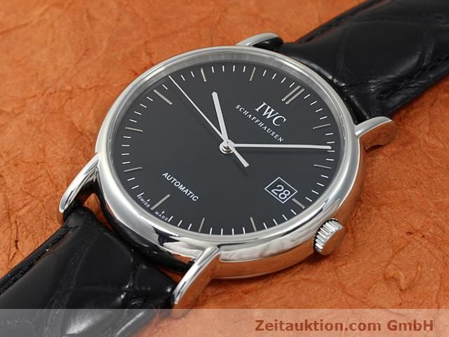 Used luxury watch IWC Portofino steel automatic Kal. 30110 Ref. 3533  | 140303 01