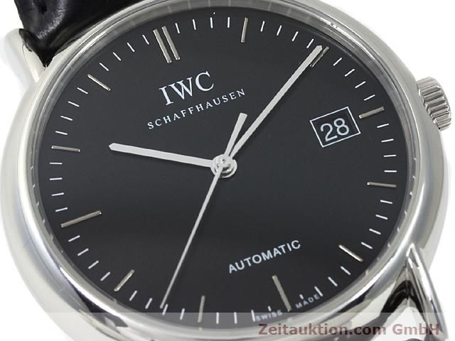 Used luxury watch IWC Portofino steel automatic Kal. 30110 Ref. 3533  | 140303 02