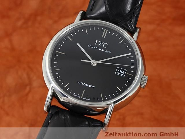 Used luxury watch IWC Portofino steel automatic Kal. 30110 Ref. 3533  | 140303 04