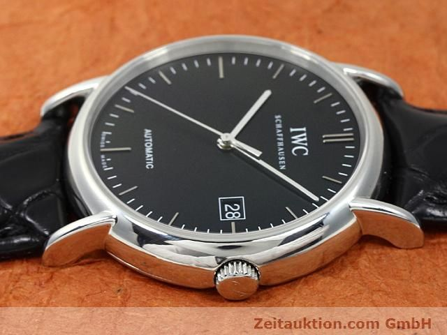 Used luxury watch IWC Portofino steel automatic Kal. 30110 Ref. 3533  | 140303 05
