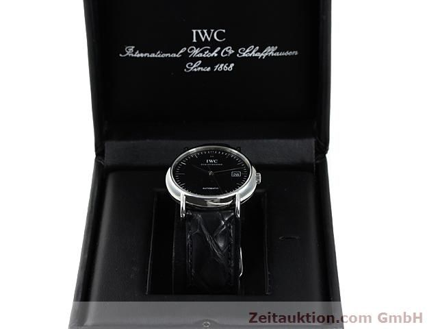 Used luxury watch IWC Portofino steel automatic Kal. 30110 Ref. 3533  | 140303 07