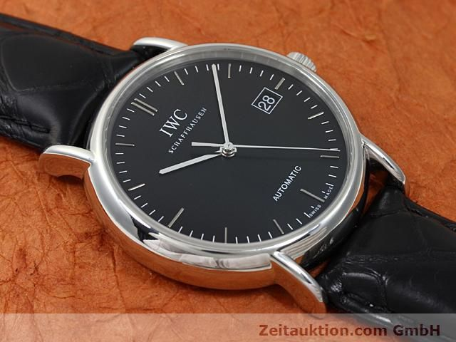 Used luxury watch IWC Portofino steel automatic Kal. 30110 Ref. 3533  | 140303 14