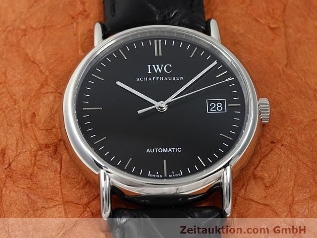 Used luxury watch IWC Portofino steel automatic Kal. 30110 Ref. 3533  | 140303 15