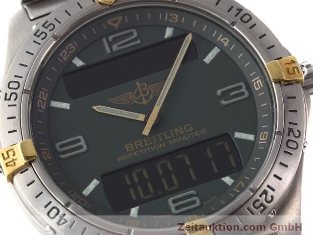 Used luxury watch Breitling Aerospace titanium quartz Ref. F65062  | 140307 02