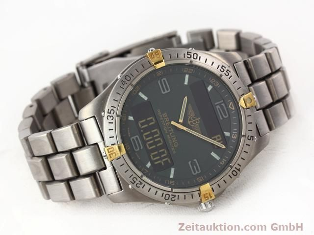 Used luxury watch Breitling Aerospace titanium quartz Ref. F65062  | 140307 03