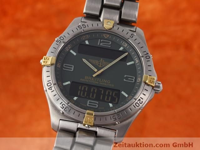 Used luxury watch Breitling Aerospace titanium quartz Ref. F65062  | 140307 04