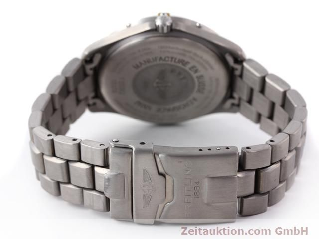 Used luxury watch Breitling Aerospace titanium quartz Ref. F65062  | 140307 11