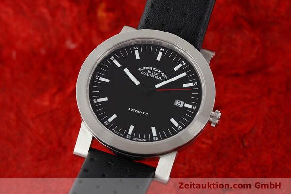 Used luxury watch Mühle * steel automatic Kal. ETA 2824-2 Ref. M12103  | 140310 04
