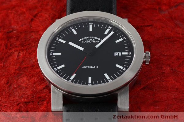 Used luxury watch Mühle * steel automatic Kal. ETA 2824-2 Ref. M12103  | 140310 16