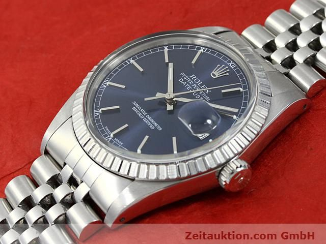 Used luxury watch Rolex Datejust steel automatic Kal. 3035 Ref. 16030  | 140311 01