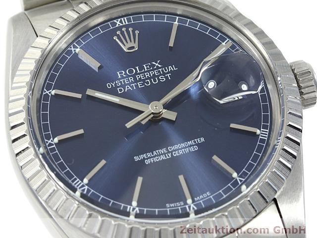 Used luxury watch Rolex Datejust steel automatic Kal. 3035 Ref. 16030  | 140311 02