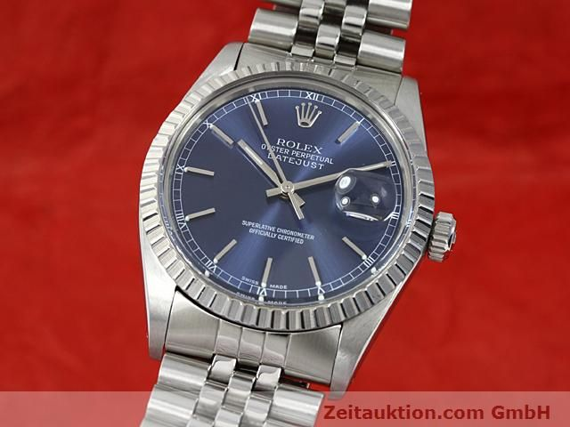 Used luxury watch Rolex Datejust steel automatic Kal. 3035 Ref. 16030  | 140311 04