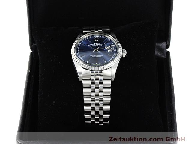 Used luxury watch Rolex Datejust steel automatic Kal. 3035 Ref. 16030  | 140311 07