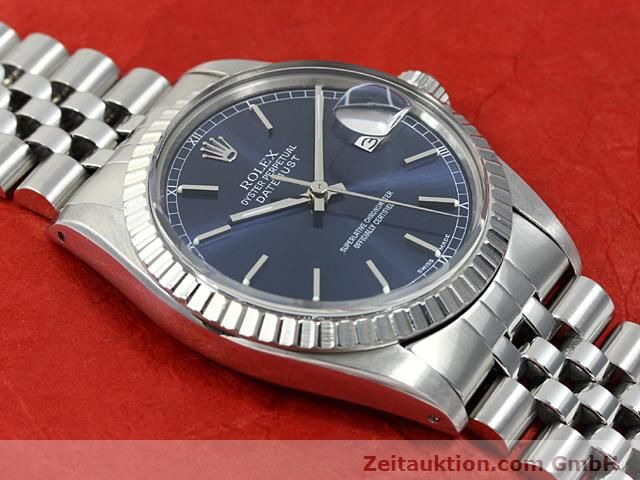 Used luxury watch Rolex Datejust steel automatic Kal. 3035 Ref. 16030  | 140311 13