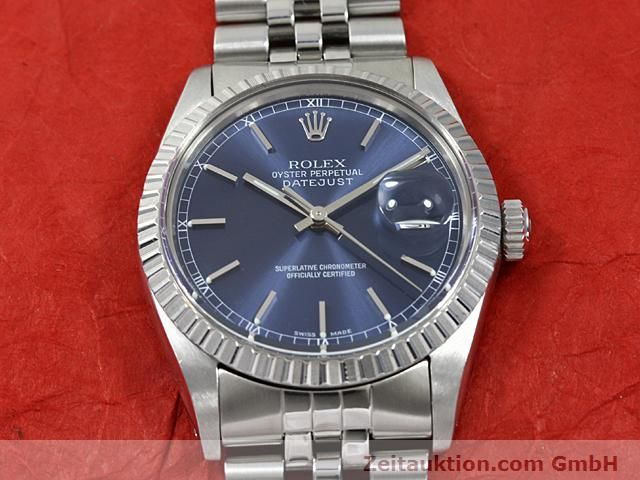 Used luxury watch Rolex Datejust steel automatic Kal. 3035 Ref. 16030  | 140311 14