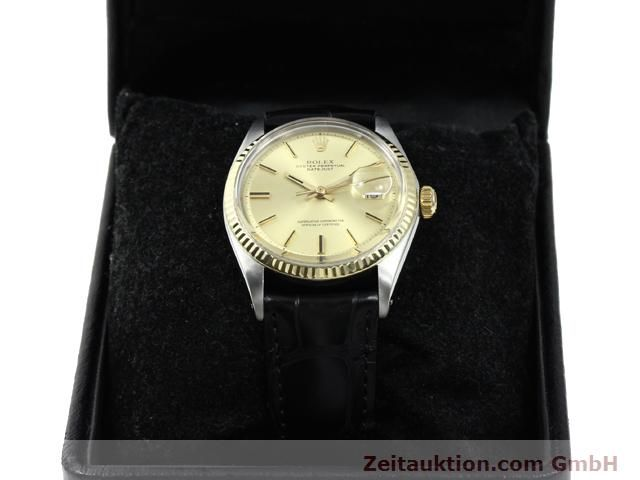 Used luxury watch Rolex Datejust steel / gold automatic Kal. 1570 Ref. 1601  | 140315 07