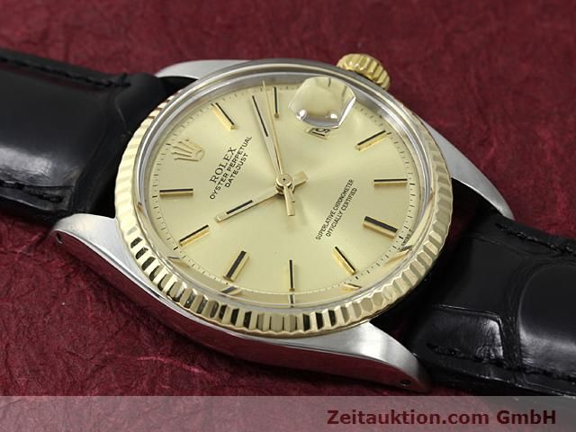 Used luxury watch Rolex Datejust steel / gold automatic Kal. 1570 Ref. 1601  | 140315 12