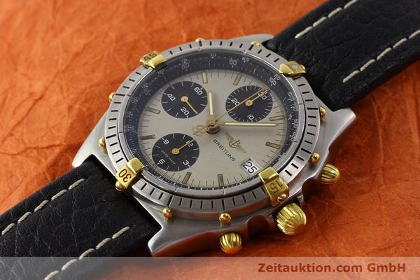 Used luxury watch Breitling Chronomat gilt steel automatic Kal. VAL 7750 Ref. B13048  | 140316 01