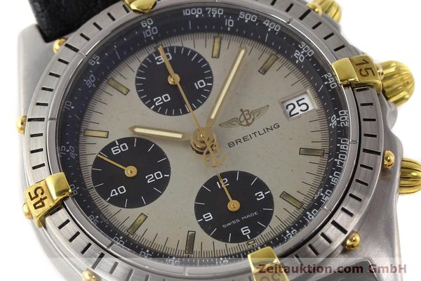 Used luxury watch Breitling Chronomat gilt steel automatic Kal. VAL 7750 Ref. B13048  | 140316 02