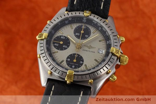 Used luxury watch Breitling Chronomat gilt steel automatic Kal. VAL 7750 Ref. B13048  | 140316 04