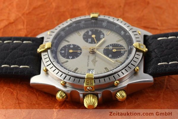 Used luxury watch Breitling Chronomat gilt steel automatic Kal. VAL 7750 Ref. B13048  | 140316 05