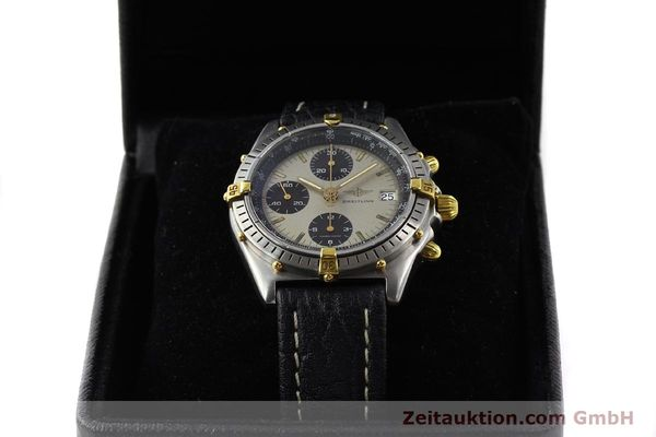 Used luxury watch Breitling Chronomat gilt steel automatic Kal. VAL 7750 Ref. B13048  | 140316 07