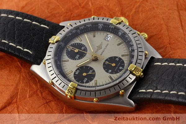 Used luxury watch Breitling Chronomat gilt steel automatic Kal. VAL 7750 Ref. B13048  | 140316 12