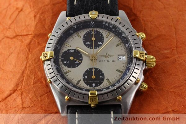 Used luxury watch Breitling Chronomat gilt steel automatic Kal. VAL 7750 Ref. B13048  | 140316 13