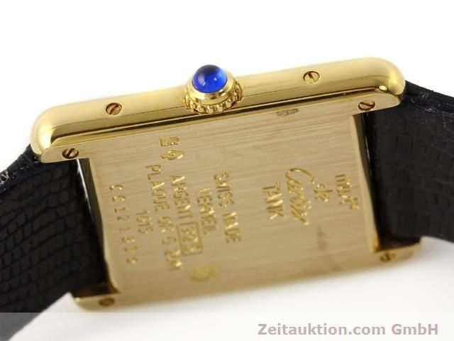 Used luxury watch Cartier Vermeil silver-gilt quartz Kal. 90  | 140318 08
