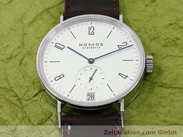 Used luxury watch Nomos Tangomat steel automatic Kal. 5891  | 140326 15