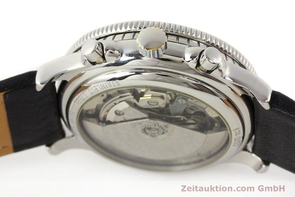 Used luxury watch Longines Lindbergh Stundenwinkel chronograph steel automatic Kal. L674.4 ETA 7750 Ref. 674.5232  | 140328 08