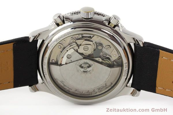 Used luxury watch Longines Lindbergh Stundenwinkel chronograph steel automatic Kal. L674.4 ETA 7750 Ref. 674.5232  | 140328 09